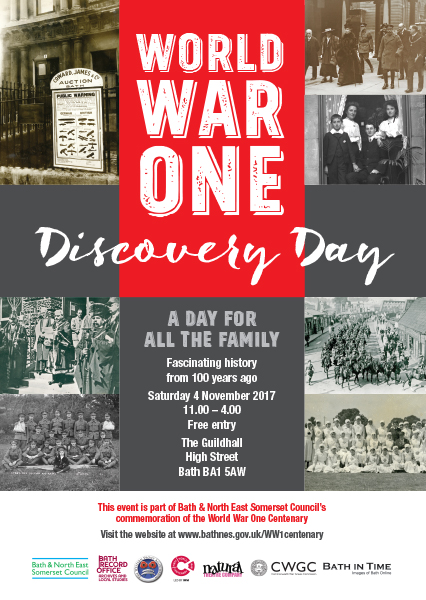 WW1 Discovery Day A4 poster aw.indd