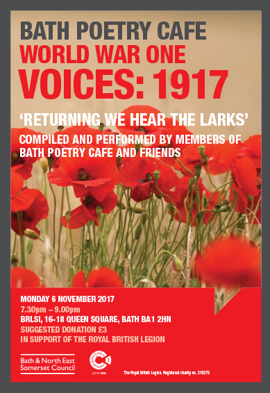 WW1 Voices A4 poster Sep17 aw.indd