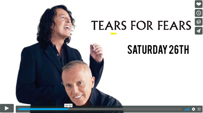 Tears for Fears to play Bath next May.