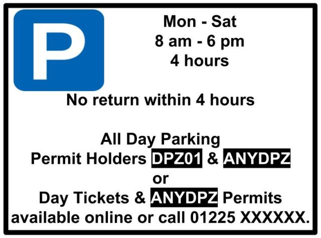 Copy of City Wide Resident Friendly Day Parking Zones