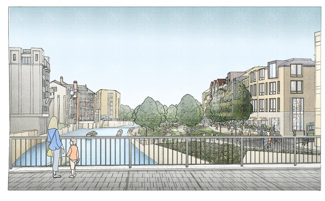 Plans submitted for major riverside development