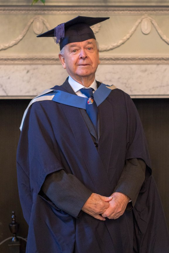 Image 1 for press - Bath Spa University's oldest graduate, Jack Ladeveze