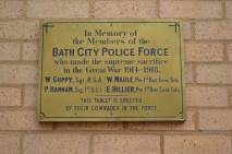 When Bath 'bobbies' went to war.