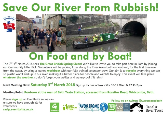 Litter Pick with Boat Poster v3