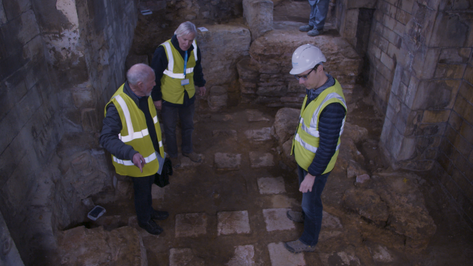 Barry returns for new look at Roman Baths.