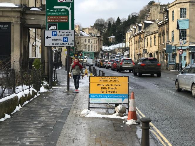 Roadworks halt forEaster