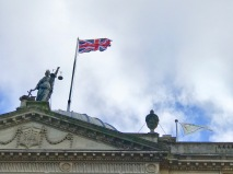 New flags for theGuildhall.