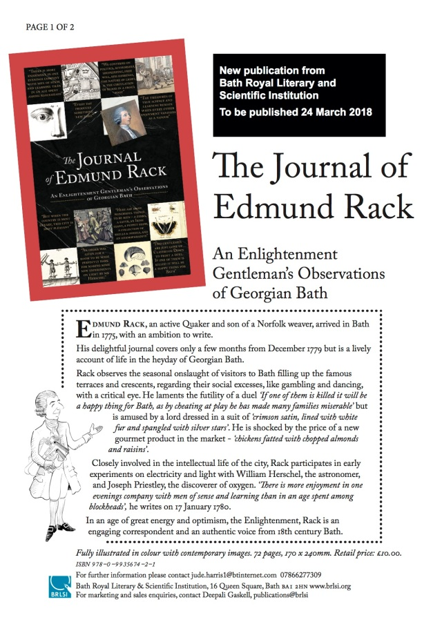 Pre-publication flier 1