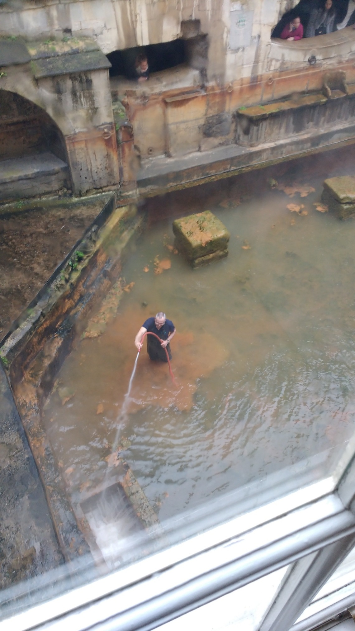 Cleaning the Sacred Spring, Bath