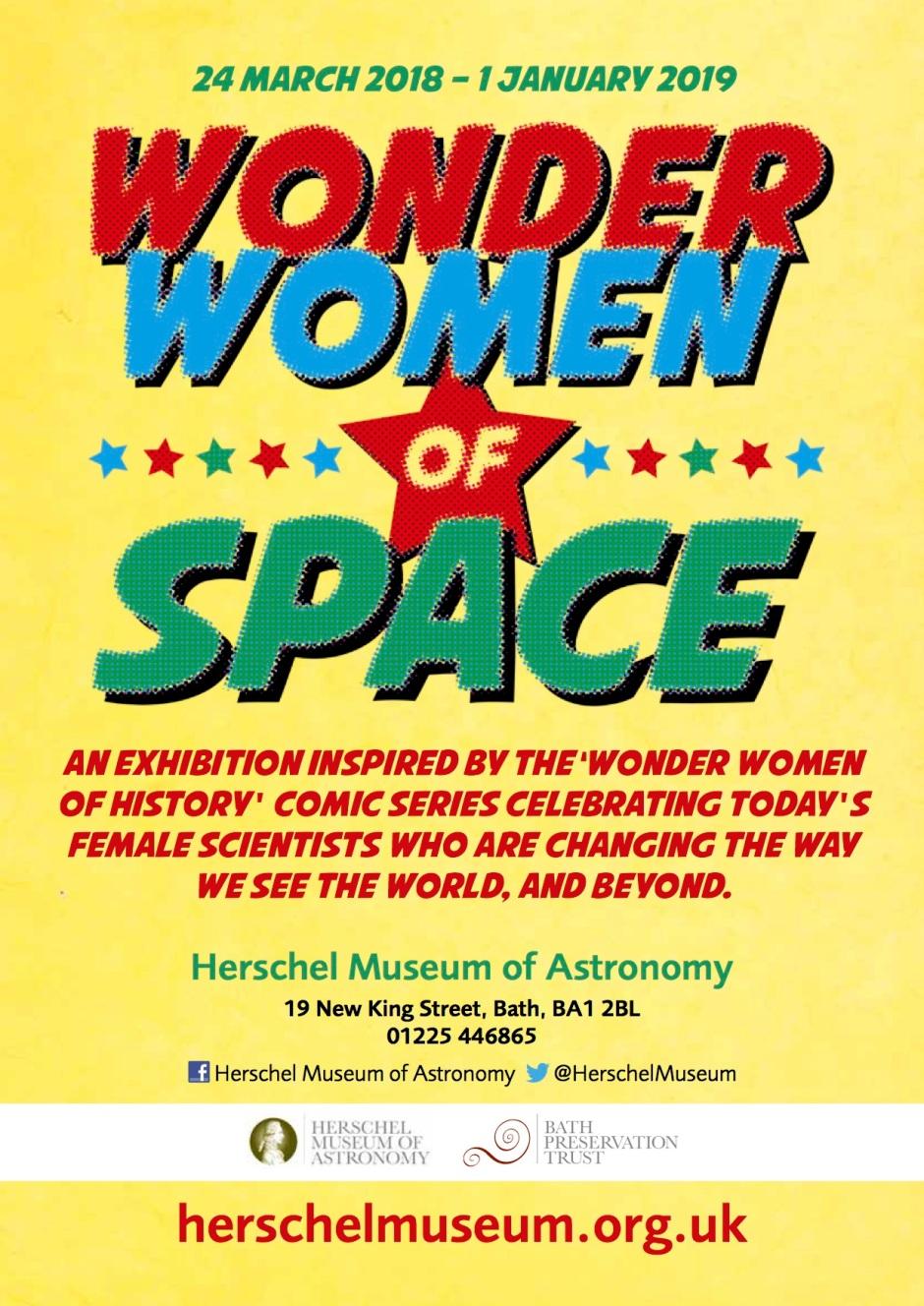 Wonder Women A4 poster v2