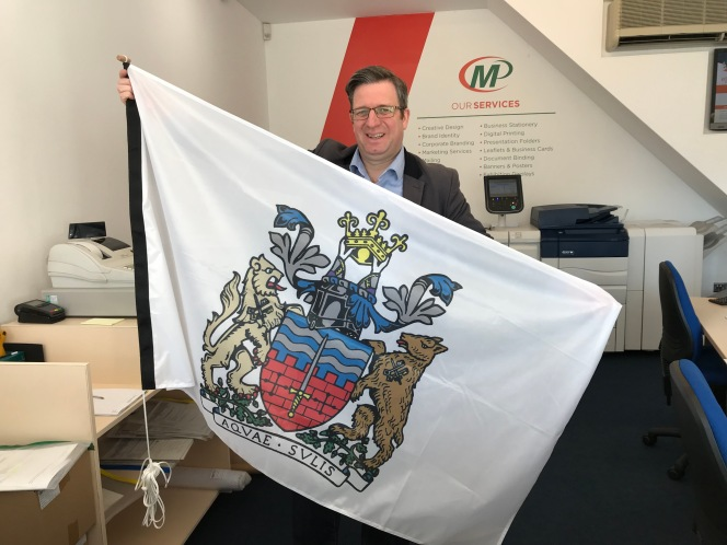 Raise a flag​ for Bath