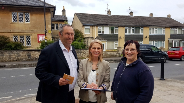 Tim Ball, Wera Hobhouse, Sarah Moore