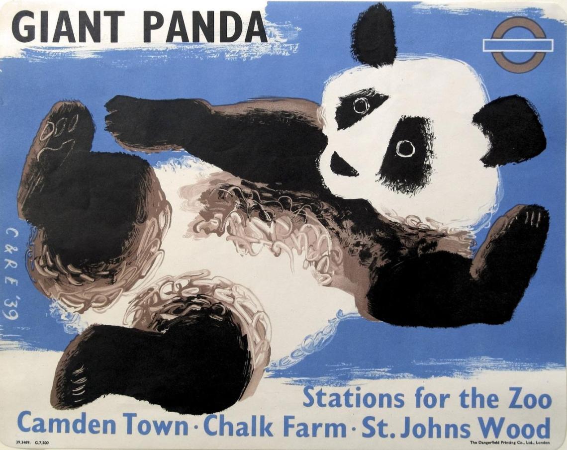 Clifford and Rosemary Ellis, Giant Panda, London Passenger Transport Board 1939