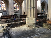 Abbey's hidden floor revealed.