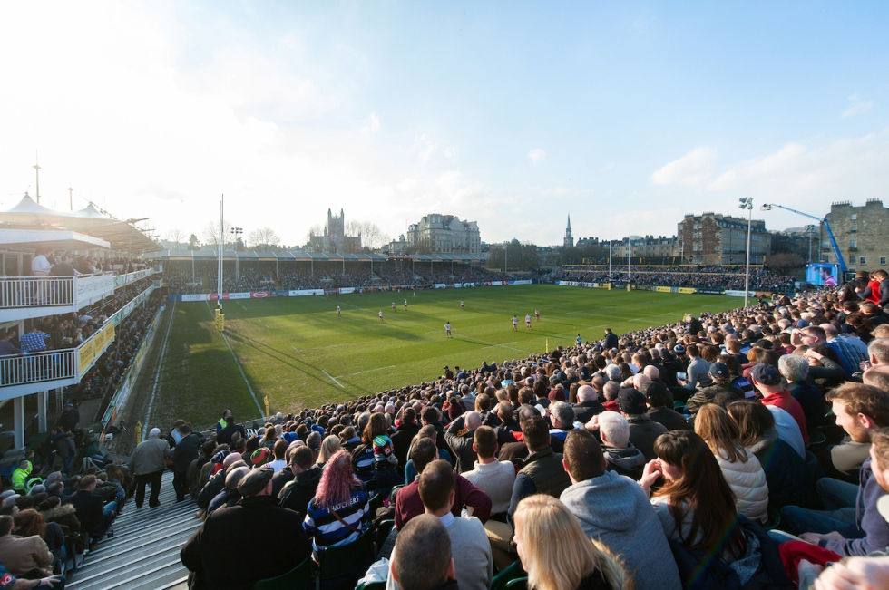 The Rec - Bath Rugby v Harlequins
