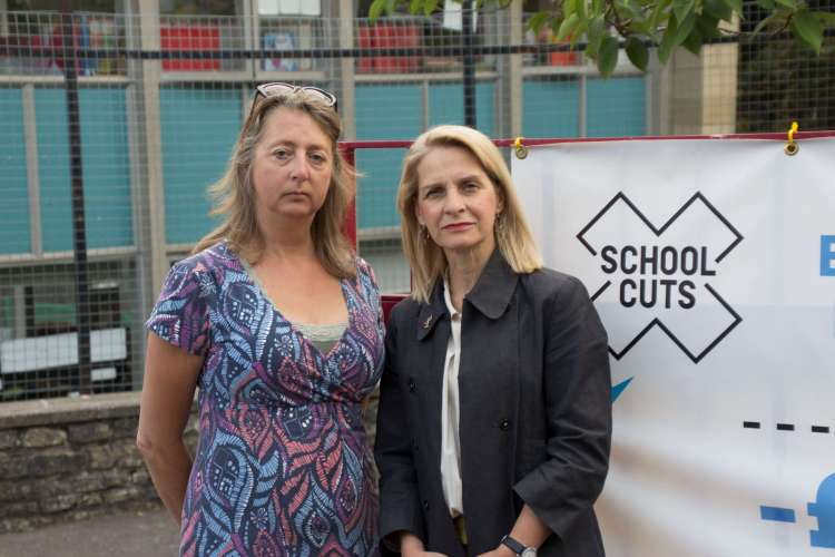 Cllr Dine Romero and Wera Hobhouse MP