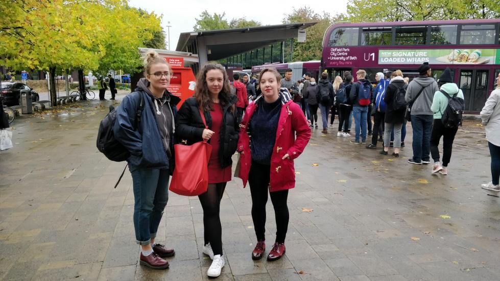 Meghan Jones, Orla Pettigrew and Amy Fortnam U1