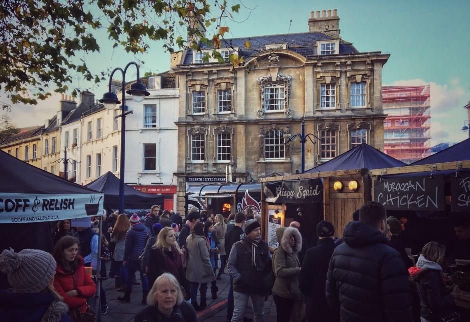 Kingsmead Sq Christmas Market 2017