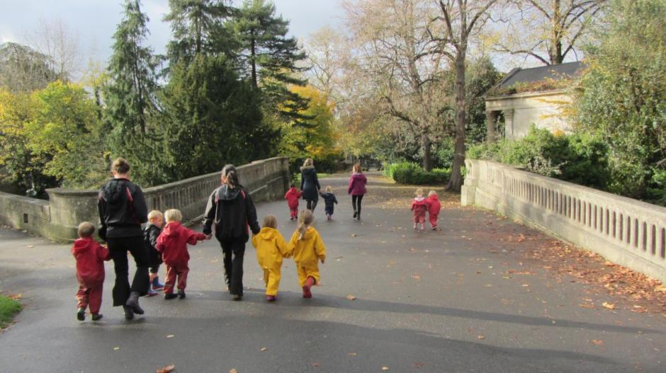 SG main axis (with educational visit from Kingswood Nursery)