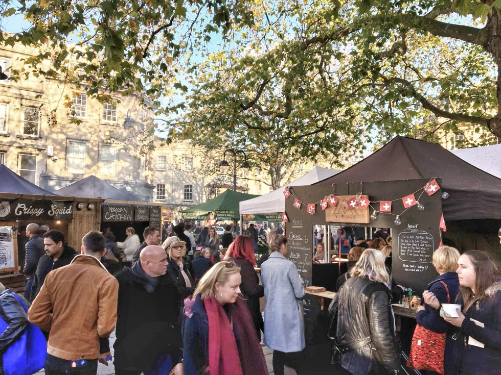 Kingsmead Sq 17 Busy Market