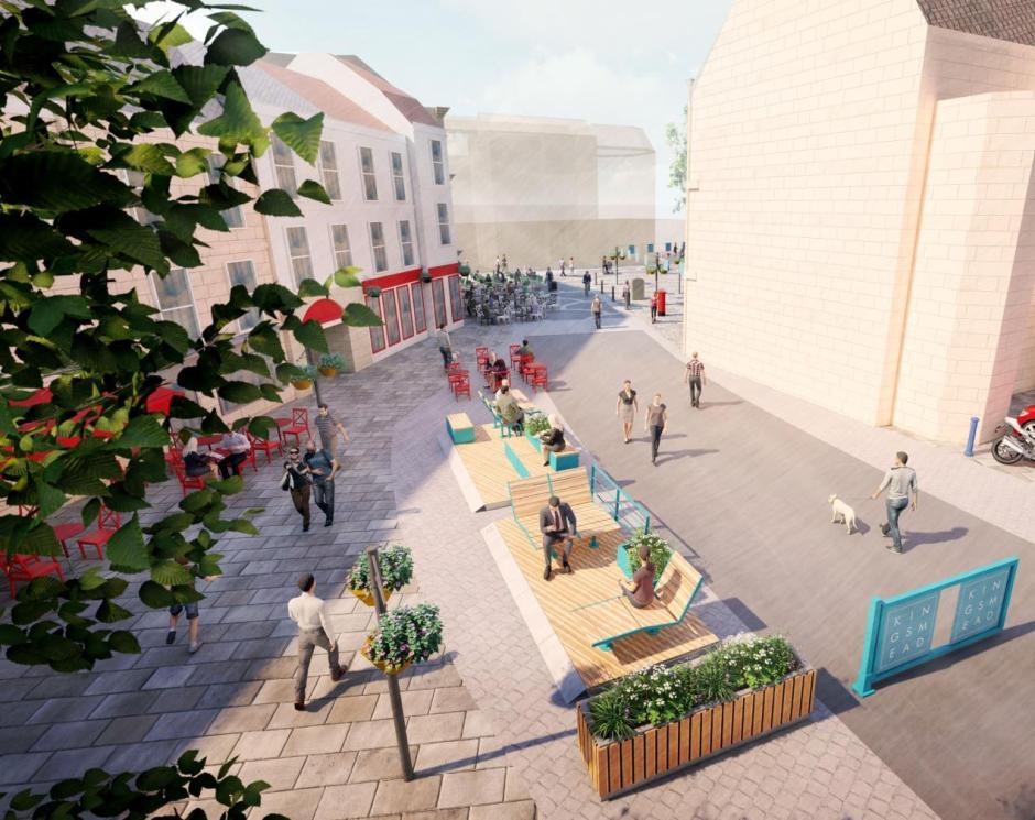 Kingsmead square parklets
