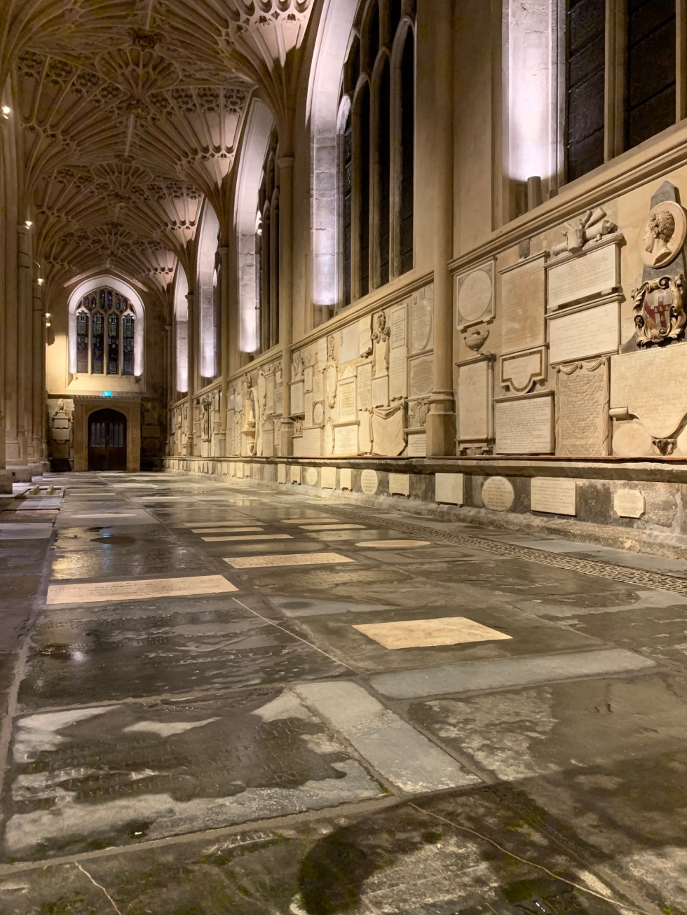 Completion of Phase 2 - North aisle portrait
